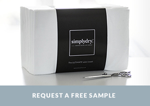 Request a FREE Simpldy Disposable Salon Towel Pack